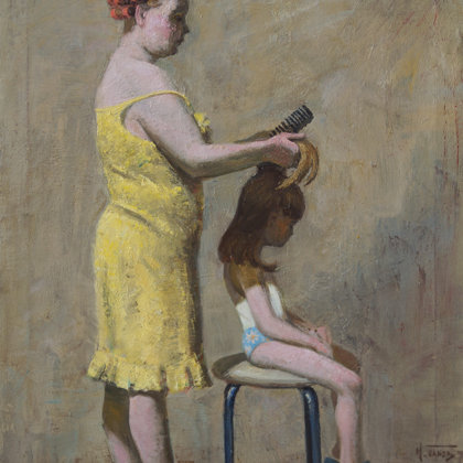 """""""Morning fees"""" 2012 oil on canvas 80x60cm - Private collection, Russia"""